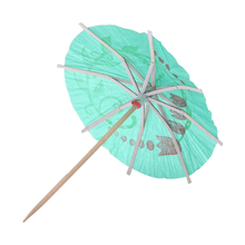 FLST 72 Pieces Colorful Mixed Paper Cocktail Drink Umbrellas Parasols Picks for Party Drinks