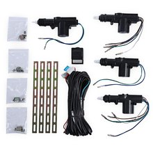 TLT - 4S - 111 - WT 12V Four Actuator Motor Vehicle Door Central Lock Keyless Entry Locking Car Safety Tool Kit(China)