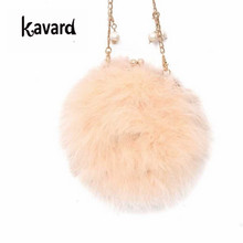 Sac Faux Fur Women Fur Bags Famous Brand Women Clutches Ladies Evening Clutch Purse Fashion Ostrich Feather Hand Bag Luxurious(China)