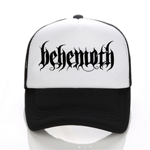 New Hip Hop DEATH HEAVY METAL PUNK Band Behemoth Eagle Cap Men Casual baseball Cap Black White Hat Snapback Women Cap