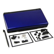 Blue plus black Full Repair Parts Replacement Housing Shell Case Kit for Nintendo DS Lite NDSL