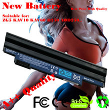 JIGU High quality Laptop Battery FOR ACER ASPIRE ONE ZG5 D250 AOD250 for Aspire One A150 Pro 531h BATTERY(China)