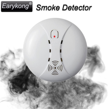 Free Shipping New 433MHz Wireless Smoke Detector Fire Alarm Sensor for Indoor Home Safety Garden Security SM-01, Hot Selling,(China)