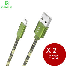 Buy FLOVEME Micro USB Cable Xiaomi Redmi Note 4X Huawei USB 2.0 Charger Cable Data Sync Samsung Charging Cables 2pcs/lot for $3.69 in AliExpress store