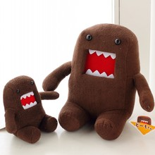 J Ghee 2017 Hot Sale 18CM Domokun Funny Domo-kun Doll Children Novelty Creative Gift the Kawaii Domo Kun Plush Toys For Kids(China)