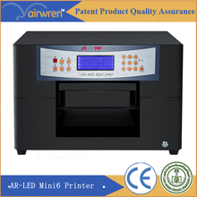 cheap uv led flatbed printer  digital ceramic printing machine