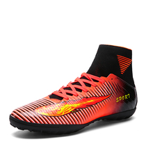 Mans Football With Ankle New Arrival Boots Soccer Shoes Original Hot Men Original Football Boots High Top Traning Football Men