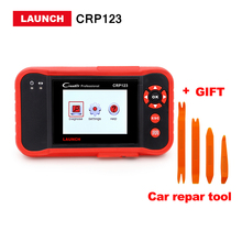 Launch X431 Creader CRP123 Code Scanner obd2 scan tool Support ABS, SRS,Transmission and Engine CRP 123 same as Creader vii+(China)