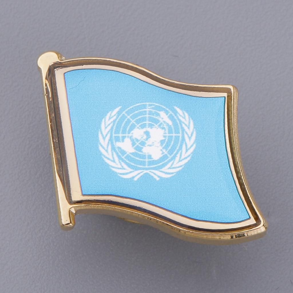Badges United Nation Cuba Friendship Flag Badge Lapel Pin Pins