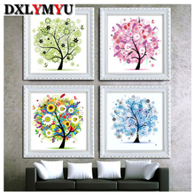 Diy diamond embroidery stick drill cross stitch 5d diamond painting rhinestone mosaic painting pasted flower home decor gife(China)