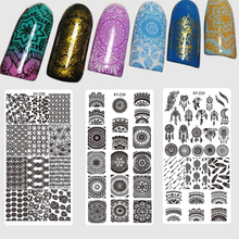 1PCS 32 Designs Nail Stamping Plates Fashion Lace/Flower/Animal/Dream Catcher Pattern Templates for Polish Nail Stamp XYZ01-32