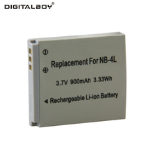 High Quality  1PCS Battery NB-4L NB 4L NB 4lL Rechargeable Camera Battery For Canon IXUS 100 110 30 IS IXY Digital 10 SD300
