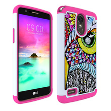 Buy LG Stylus 3 Case Stylus3 Stylo3 Hybrid Rubber Bling Crystal Case 2 1 Soft TPU+Hard PC High Impact Armor Cover Case for $5.51 in AliExpress store