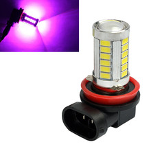12V DC H11 H8 5630 33 SMD 33-LED Fog Light DRL Driving Bulb Truck Pink Purple