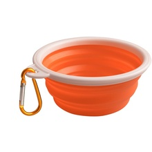Puppy Pet Dog Cat Portable Feeder Travel Feeding Bowl Folding Collapsible Silicone Water Dish