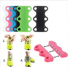 1 Pair Novelty Magnetic Casual Sneaker Shoe Buckles Closure No-Tie Shoelace Running Magnetic shoeslace buckles