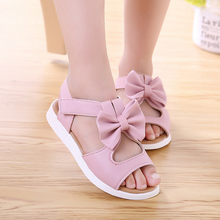 girl sandals girls shoes summer party toddler princess wedding shoe children  kids for 2~15 year size 21-35 leather fashion KK33