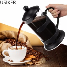 8 Cups 34 Oz Double Layers Stainless Steel Plunger French Press Espresso Percolator Stove Top Coffee Maker Pot R20