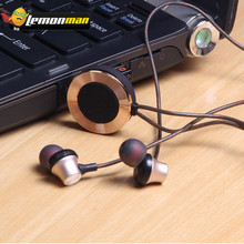 LemonMan Earphone Mini Wireless Bluetooth sports headset new design metal magnetic pendant type stereo Bluetooth earphones(China)