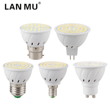 E27 E14 MR16 GU10 B22 Lampada LED Bulb 110V 220V Bombillas LED Lamp Spotlight 48 60 80 LED 2835 SMD Lighting(China)