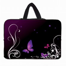 Laptop Sleeve Butterfly Bag 15 13 7 10 12 Tablet Neoprene Sleeve Netbook Bags Cover Computer Accessories Funda Bolsas For Chuwi