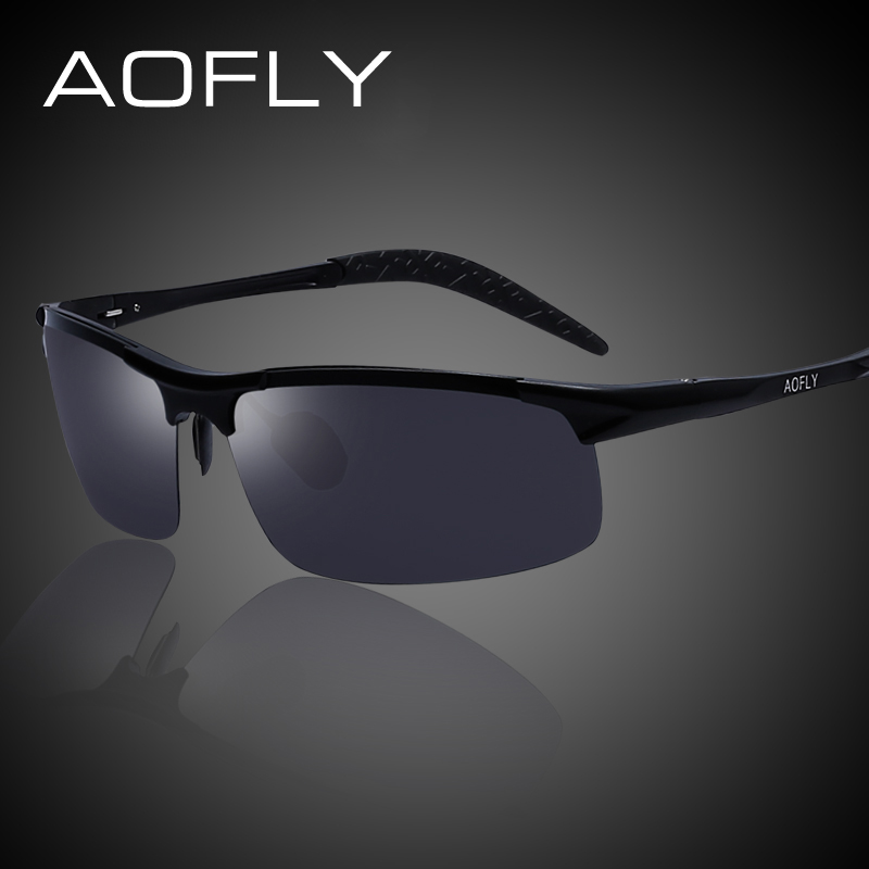 AOFLY Men Sports Brand Frame Polarized Sunglasses Men Polaroid Lens Sun Glasses for Men Driving Outdoor Shades With Original Box<br><br>Aliexpress