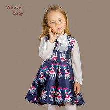 Girls Dress Summer Princess Dresses For Girl Robe Fille Print Pattern Christmas Evening Gowns Children Clothing Enfant Costumes