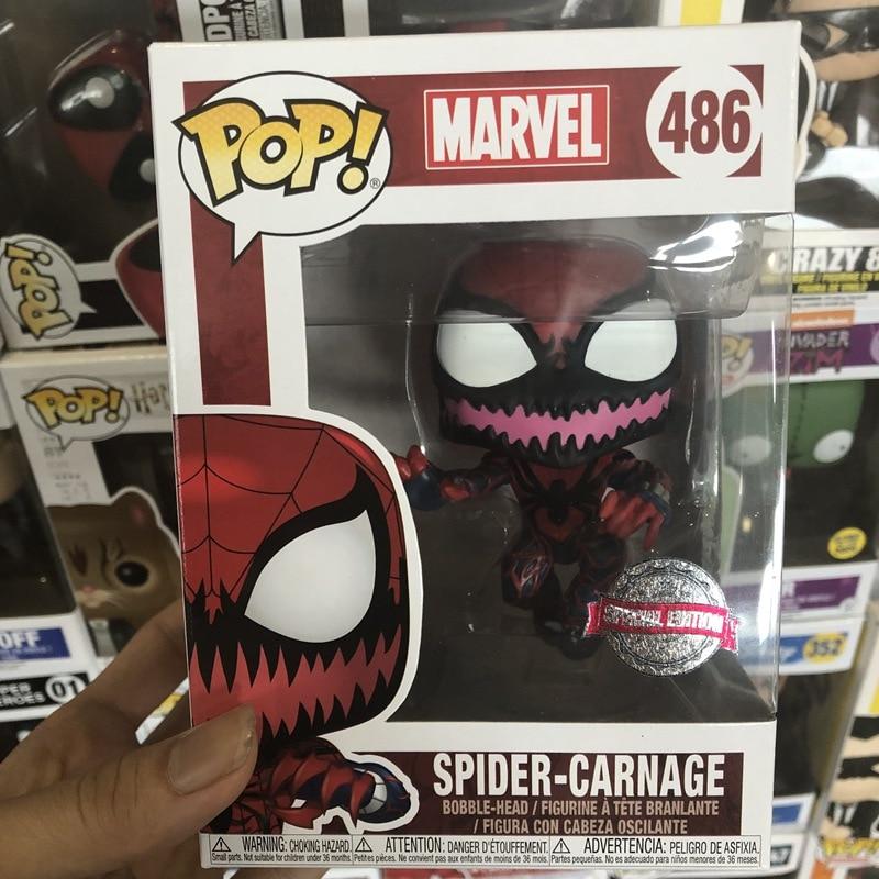 Marvel vacanza in Vinile Bobble-Head SPIDER-MAN Marvel Comics Pop Un Brutto Maglione
