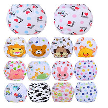 1pcs Reusable Baby Infant Nappy Cloth Diapers Soft Covers Washable nappy changing Size Adjustable for Winter &Summer ER635E(China)