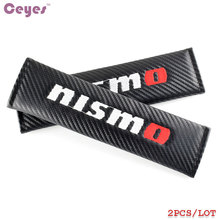 Car-Styling Auto Emblems Stickers Case For Nissan Nismo Tiida Teana Skyline Juke X-trail Almera Qashqai Carbon Badge Car Styling
