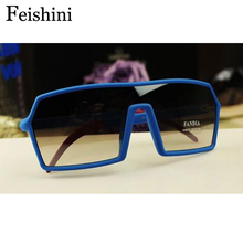 FEISHINI fashion Night club mens sunglasses, Hot Products Glasses Restore ancient ways to show off color Sunglasses Men with box