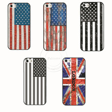 High Quality US UK Flag Hard Cover Case For Apple i Phone iPhone 4 4S 4G 5 5S 5G 5C 6 6S Free Shipping