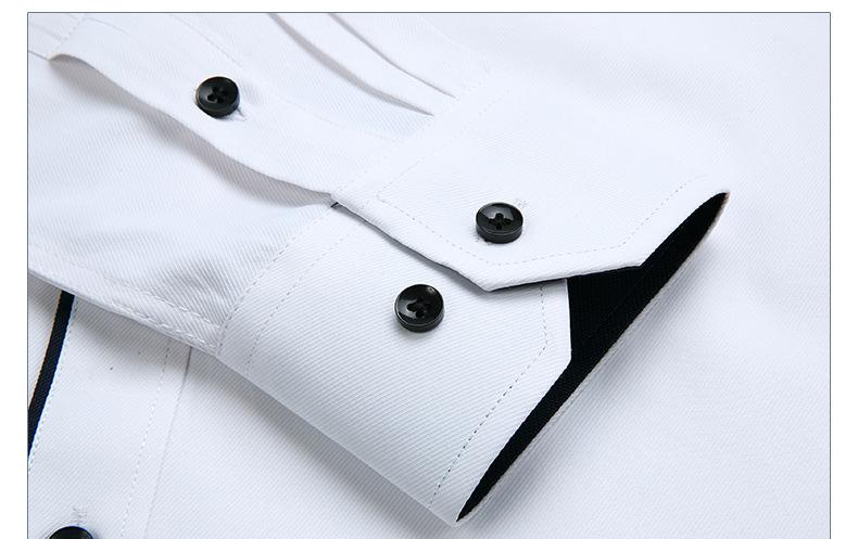 Dudalina Camisa Male Shirts Long Sleeve Men Shirt Brand Clothing Casual Slim Fit Camisa Social Striped Masculina Chemise Homme 5