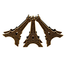 1 pc wedding seats clip creative name card note picture memo photo clip holder vintage eiffel tower wedding gift