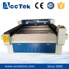 AKJ1325 high precision stencil laser cutting machine lathe woodworking machine from china factory directly