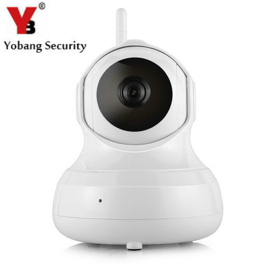 YobangSecurity Wireless WiFi IP Surveillance Camera HD 720P Video Recording Remote Motion Detection Alert with Night Vision<br>