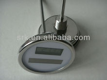 "bimetal Solar thermometer with back connection,SS304 Case, dial 3"" fast delivery,high quality"
