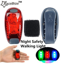 Portable Mini Cycling MTB Safety Warning LED Rear Light Outdoor walking Running Bicycle Backpack Waterproof Helmet Lamp