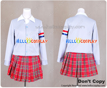 K ON The Movie London Taxi Cosplay Academy Style Costume H008