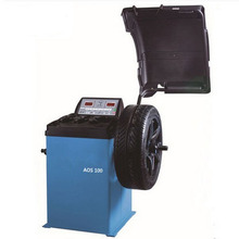 Car Tire Balancing Machines Tool Maintenance Equipment Garages AOS100(China)