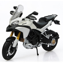 Maisto Scale 1:12 Model Motorcycle Alloy Diecast & ABS Ducati Multistrada 1200S Motor Bicycle Model Toy Mini Vehicle Toys Juguet