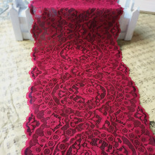 3Meters/Lot Stylish French Vintage Stretch Lace Trim, High Quality Thicken Elastic Lace Fabric,DIY Lingeries Bra Panties Sewing