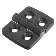 MTGATHER 10 Pcs Reinforced Plastic Door Cabinet Butt Bearing Hinge 40mmx30mm Resistant Corrosion Good Toughness
