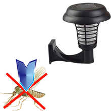UV LED Solar Powered ug Zapper Killer Wall-mounted Outdoor Mosquito Insect Killer Mosquito Repeller Garden Accessories(China)
