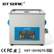 GT SONIC industrial ultrasonic cleaner nozzle 13L China VGT-2013QTD with free basket ultrasonic injector cleaning machine(China)
