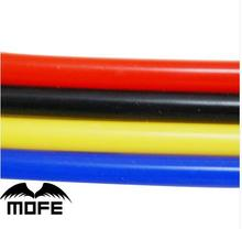 7.17 Mofe four color 5meter 3mm/4mm/6mm/8mm silicone vacuum hose tube pipe black vacuum pipe for car(China)