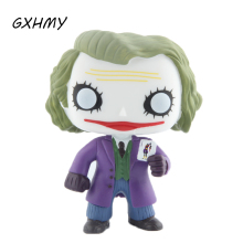 Elsadou #36 Batman The Joker Vinyl Action & Toy Figures Children Toys Doll(China)
