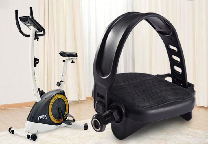 Педали для велосипеда черный комплект с ремнями ремонтные детали бодибилдинга
