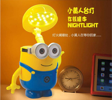Minion bank gift ideas birthday gift table lamp 2-one utility to send boys and girls children students