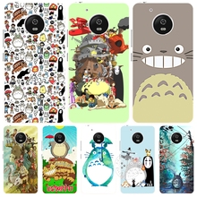 Studio Ghibli Spirited Away Totoro case cover for For Motorola Moto G5 G4 PLAY PLUS ZUK Z1 Z2 BQ M5.0